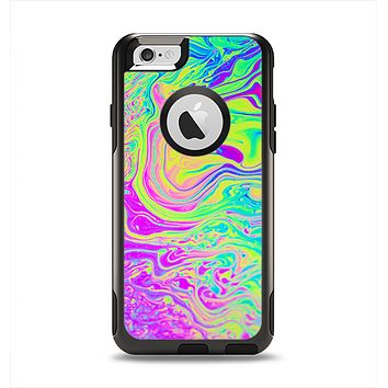 The Neon Color Fushion Apple iPhone 6 Otterbox Commuter Case Skin Set