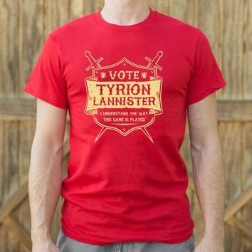 Mens Vote Tyrion Lannister T-Shirt