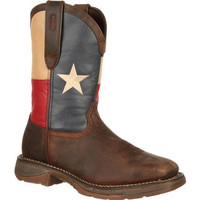 Rebel by Durango Steel Toe Texas Flag Western Boot