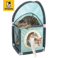 DOBOLA Cat Tent Toy Diving Tower Funny Educational Toys For Small Cat Or Puppy Dog With Blue Hole Toy New Arrival