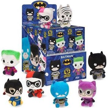 Funko Blind Box DC-Batman (One Mystery Plush) Collectible Figure