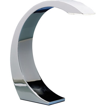 Element Touch Lamp, Chrome
