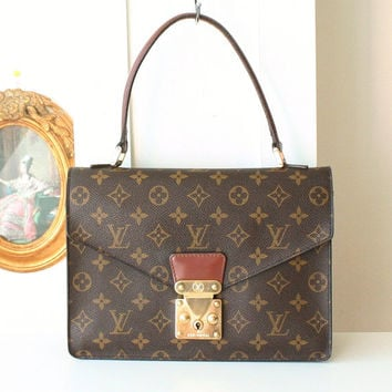 Authentic Louis Vuitton Concorde Monogram Vintage Tote handbag