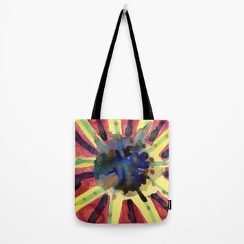 Explosive Sun Tote Bag by Heidi Capitaine