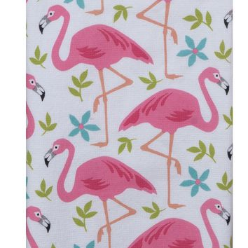 Terry Towel - Flamingo