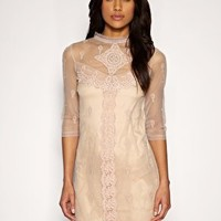 Oasis   Oasis Victoriana Lace Dress at ASOS