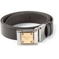 Dolce & Gabbana plaque buckle belt
