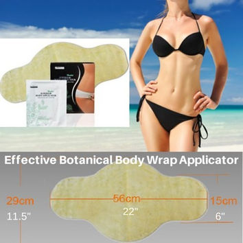 3 Body Wraps Applicators! Most Effective! It Works in Just 45 Minutes! Detox, Tone, Firm, Reduces Appearance of Cellulite and Stretch Marks Smooth Stomach, Legs, Arms. Easy to Use. No Mess Plus Loose Inches! 100% Customer Satisfaction!