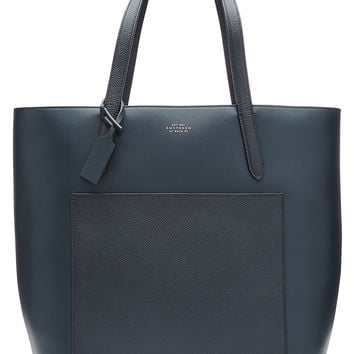 Smythson - Leather North South Tote
