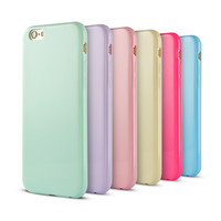 Solid TPU soft Rubber Case for Apple iPhone 6 4.7