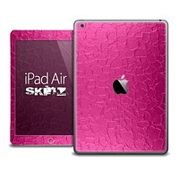 The Pink Stamped Skin for the iPad Air