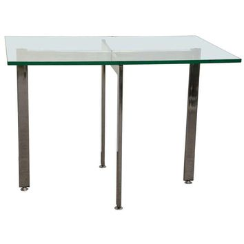 Pre-owned Milo Baughman Style Occasional Table