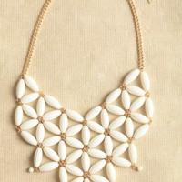 antique lace lattice necklace at ShopRuche.com