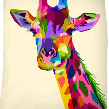 ROFB Love Giraffes Fleece Blanket