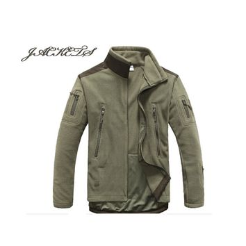 Military Man Fleece tad Tactical Jacket Outdoor Polartec Thermal Sport Polar Outerwear Coat Army Clothes