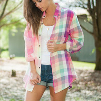 Rise To The Occasion Top, Pink