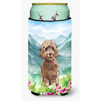 Mountian Flowers Labradoodle Tall Boy Beverage Insulator Hugger CK1988TBC