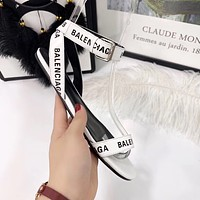 Balenciaga Ladies flat sandals