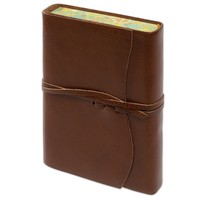 Roma Lussa Softbound Leather Journal Brown