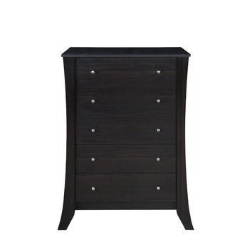 Halainna Spacious Multi Shelf Dark Walnut Shoe Cabinet