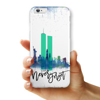 Never Forget 9/11 v5 - iPhone 6/6s or 6/6s Plus INK-Fuzed Case
