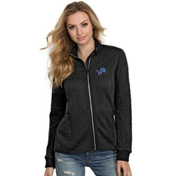 ESBON NFL Detroit Lions Womens Destination Full-Zip Track Jacket