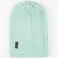 Yea.Nice The Slouch Knit Beanie Mint One Size For Women 24950752301