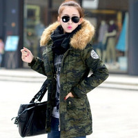 Women Winter Coat Wadded Jacket Medium-long Plus Size 4XL Parka Fur Collar Thickening Hood Abrigos Female Snow Wear Zhu-01-00108 = 1958630276
