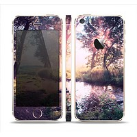 The Vivid Colored Forrest Scene Skin Set for the Apple iPhone 5s