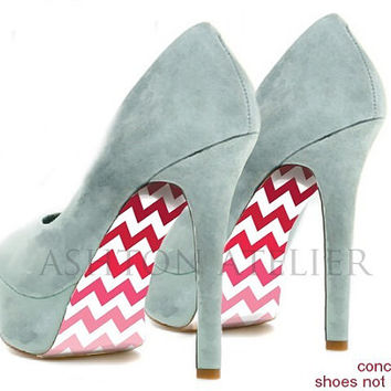 Custom hand painted Geometrical Pattern shoes