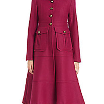 Nanette Lepore - Femme Fatale Wool Trenchcoat - Saks Fifth Avenue Mobile
