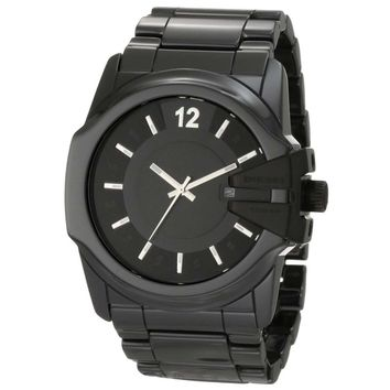 Diesel DZ1516 Men's Black Ceramic Bracelet Black Dial Quartz Watch