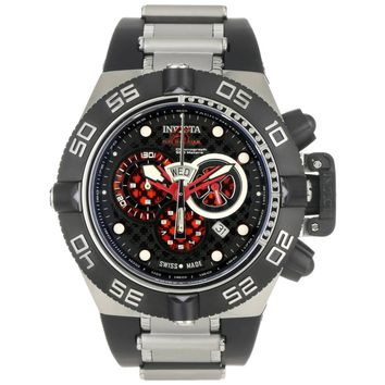 Invicta 6569 Men's Subaqua Noma IV Chronograph Black Rubber Strap Dive Watch