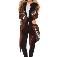 Spencer Aztec Cardigan