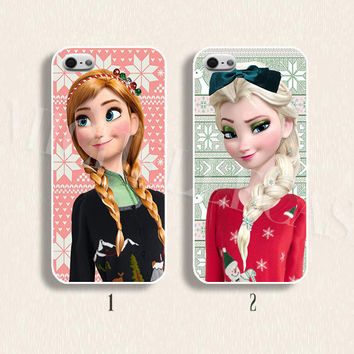 Disney phone case Disney frozen phone case Disney Elsa case for  iPhone 4/4s 5/5s Galaxy s3 s4 s5 Hard plastic and soft Rubber