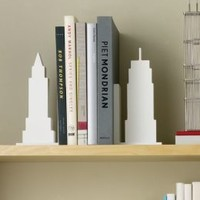 NYC Skyline Bookends
