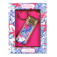 LILLY PULITZER: Key Fob - She She Shells