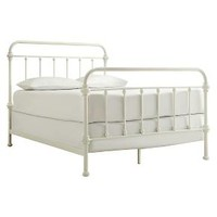 Tilden Standard Metal Bed - White (Queen)