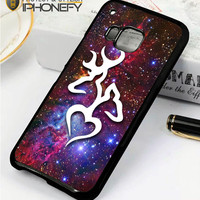 Browning Deer Love Galaxy Nebula HTC One M9 Case|iPhonefy