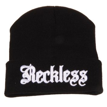 RECKLESS - Knitted Wool Beanie