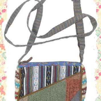 Passion for Patches Cross Body Bag