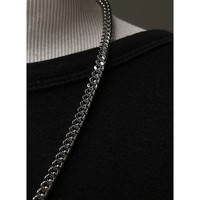 Mens C Link Chain Necklace - 56cm at Fabrixquare