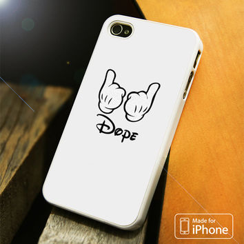 Mickey Mouse Obey Dope iPhone 4(S),5(S),5C,SE,6(S),6(S) Plus Case