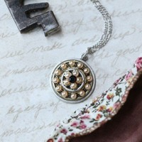 coin toss for your heart indie necklace