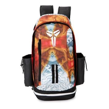 PEAP Nike Fashion Kobe Leisure Sports Travel Backpack Orange White
