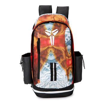 DCCK2 Nike Fashion Kobe Leisure Sports Travel Backpack Orange White