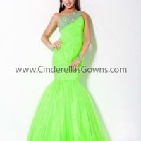 Designer Prom Dresses|Evening Dresses|Jovani Prom|Neon Lime|Neon Orange|White|30002|2013