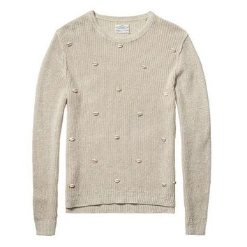 Seashells Sweater by Scotch and Soda