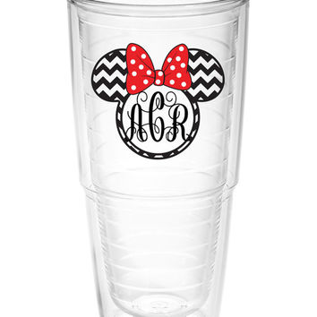 Monogram Tumbler ~ Perfect gift for Disney lover ~ personalized Tervis cup 24oz