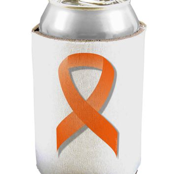 Leukemia Awareness Ribbon - Orange Can / Bottle Insulator Coolers